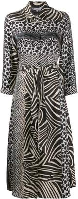 Pierre Louis Mascia animal print dress