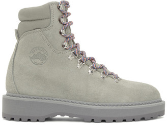 Diemme Grey Suede Monfumo Boots