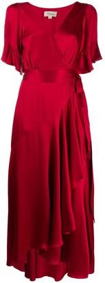 Temperley London Asymmetric Tie Fastened Dress