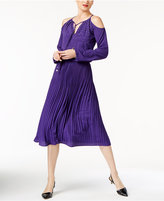 MICHAEL Michael Kors Embellished Cold-Shoulder Dress