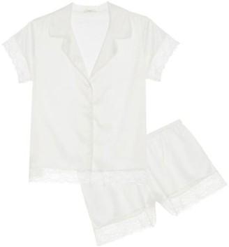Eberjey One & Only 2-Piece Satin Pajama Set