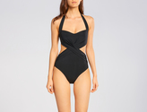 Jets Jetset Cut Out Cross Front One Piece