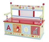 Levels of Discovery CoCaLo Baby Alphabet Soup Storage Bench by