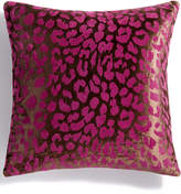 Holiday Lane Purple Animal Texture Decorative Pillow, Created for Macy's