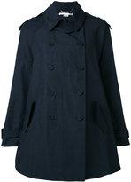 Stella McCartney double breasted jacket - women - Cotton/Polyamide/Linen/Flax - 38
