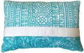 Kim Salmela Christina 14x20 Outdoor Pillow, Aqua