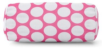 Majestic Home Goods Round Cotton Bolster Pillow Majestic Home Goods Color: Hot Pink