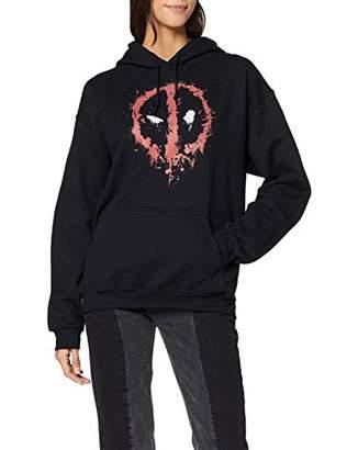 Marvel Women's Deadpool Splat Face T-Shirt,16 (Size:)