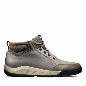 Clarks Mens 261430367 Ankle Boots Grey Size: 10.5 UK