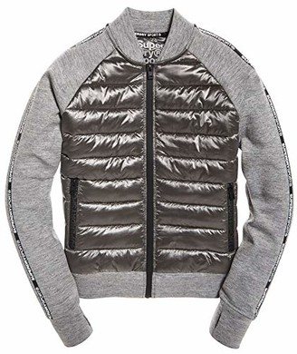 Superdry Women's CORE Gym TECH Hybrid Bomber Jacket