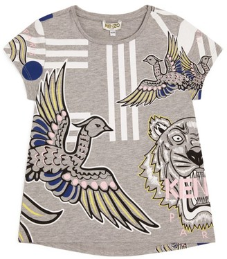 Kenzo Tiger and Bird T-Shirt