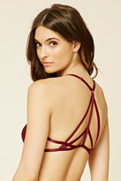 Forever 21 FOREVER 21+ Strappy-Back Push-Up Bra