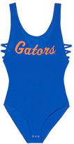 PINK University Of Florida Strappy Side Tank Bodysuit