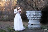 "Etsy 12% DISCOUNT! Wedding Dress ""Found Princess""; Medieval Dress; Fantasy Style Dress;"
