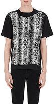 Saint Laurent Men's Python-Graphic T-Shirt-BLACK, WHITE, NO COLOR