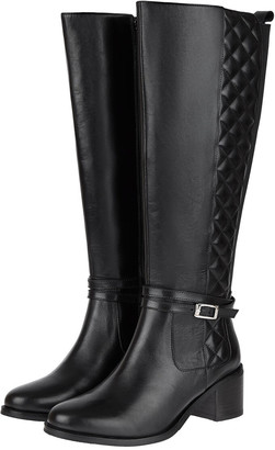 Monsoon Leather Riding Boots Black