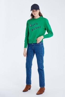 Maison Labiche Maison La Biche - Lets Dance Green Knit - S