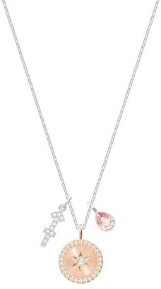 Swarovski Women Silver Plated Pendant Necklace - 5349221