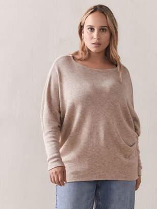 Slouchy Boat-Neck Top - Addition Elle