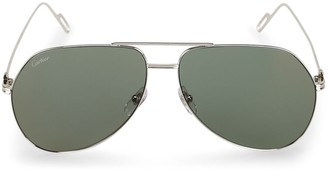 Cartier Aviator Frame Sunglasses