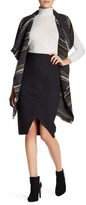 Cupcakes And Cashmere Side Zip Front Slit Skirt