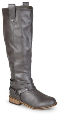 Journee Collection Walla Extra Wide Calf Riding Boot