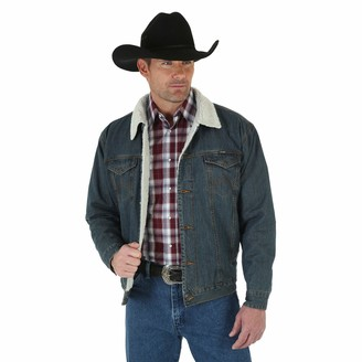 Wrangler mens Western Style Lined denim jackets