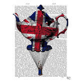 Asstd National Brand Jack Flying Teapot Canvas Wall Art