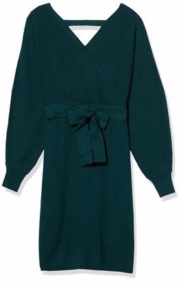 Forever 21 Women's Plus Size Surplice Bodycon Dress
