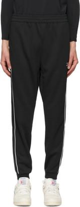 Reebok Classics Black Double Knit Workout Lounge Pants