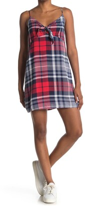 re:named apparel Kimmie Plaid Cami Dress