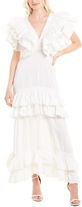 Beulah Ruffle Maxi Dress