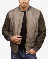 Lucky Brand Men's Quilted Colorblocked Bomber Jacket