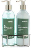 SONOMA Goods for LifeTM Be Revitalized Eucalyptus & Mint Bath Caddy Gift Set