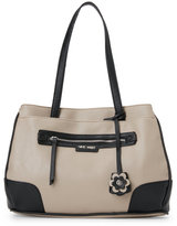 Nine West Mushroom & Black Rafela Satchel