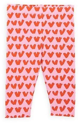 Stella McCartney Kids Baby Girl's Heart-Print Leggings