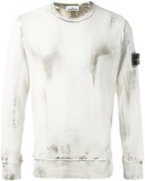 Stone Island crew-neck sweatshirt - men - Cotton - S