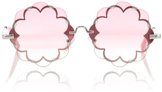 MonnaLisa Flower-shaped sunglasses