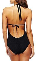 JCPenney Bisou Bisou® Crochet One-Piece Swimsuit