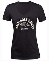5th & Ocean Women's Baltimore Ravens Checkdown LE T-Shirt