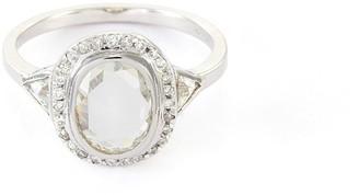 Xiao Wang 'Galaxy' diamond 18k white gold ring
