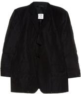 Vetements Fold-up single-breasted jacket