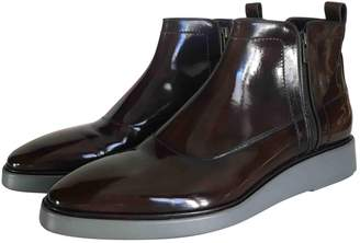 Lanvin Brown Leather Boots