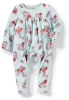 Infant Girl's Peek Floral Romper
