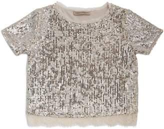 Ermanno Scervino Sequin T-Shirt