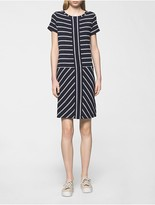 Calvin Klein Striped T-Shirt Dress