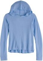 Mudd Girls 7-16 & Plus Size Thermal Hoodie
