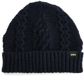 Edwin United Beanie Hat Navy