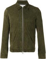 Officine Generale zipped jacket - men - Suede/Acetate/Viscose - S