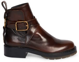 Chloé Diane Harness Leather Combat Boots